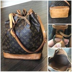 💯 Auth Louis Vuitton Noe GM